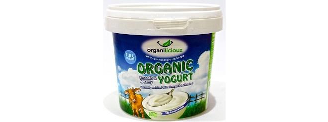 Organiliciouz Organic Yogurt
