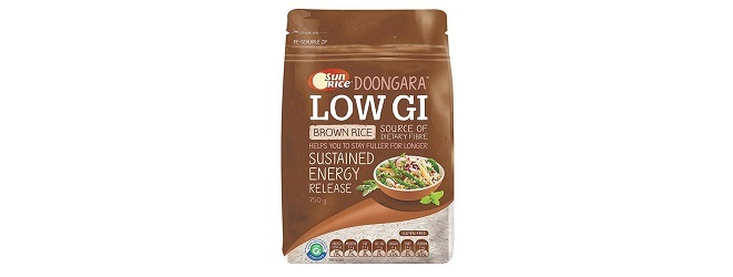Sun Rice Low GI Brown Rice