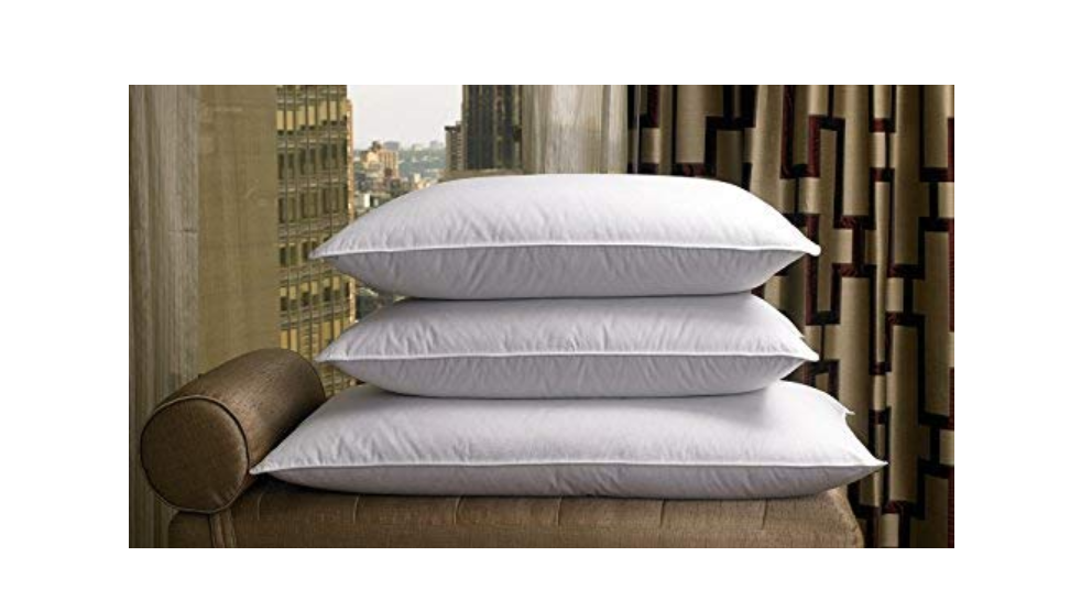 Linenwalas king size goose down and feather pillow