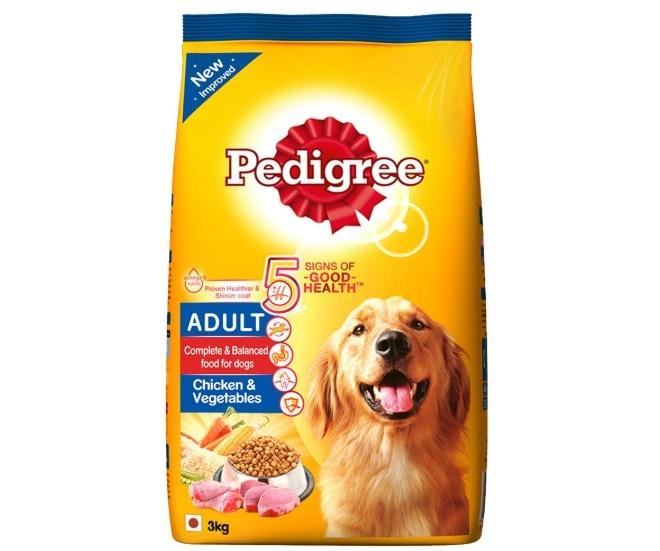 Pedigree Adult Dry Dog Food, Chicken & Vegetables