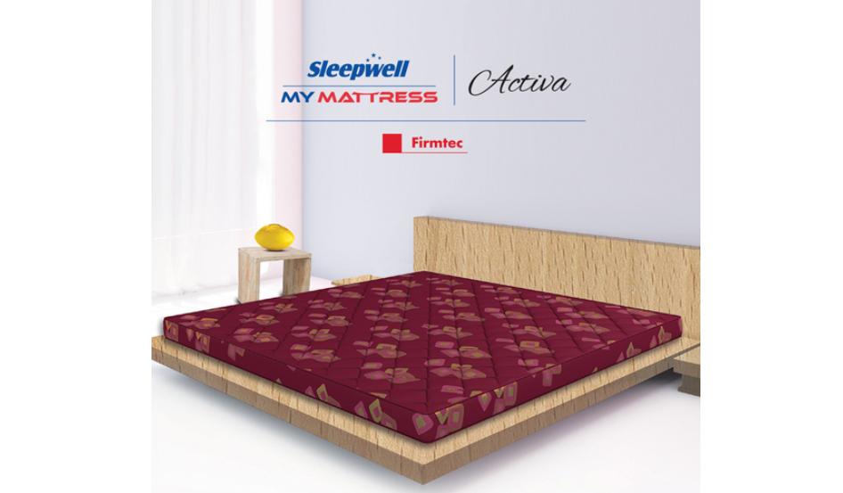 Sleepwell Activa Firmtech mattress