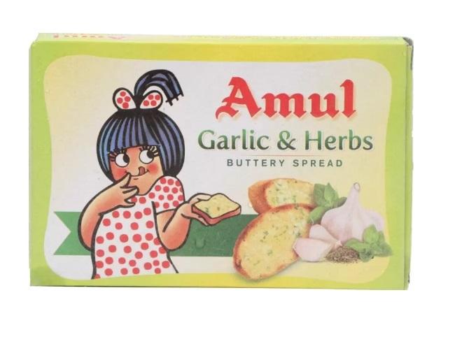 Amul Garlic & Herbs Salted Butter