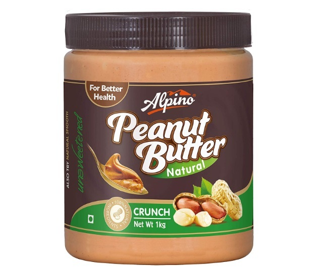 Alpino Natural Crunch Peanut Butter