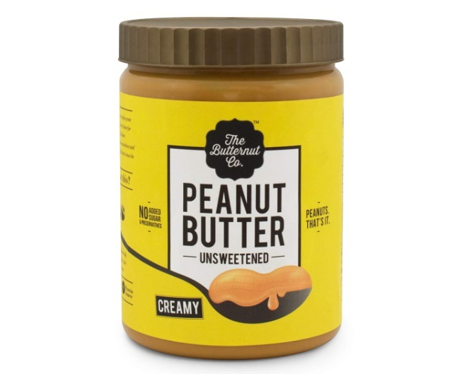 The Butternut Co. Unsweetened Peanut Butter- Creamy