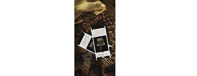 Lindt Excellence dark chocolate