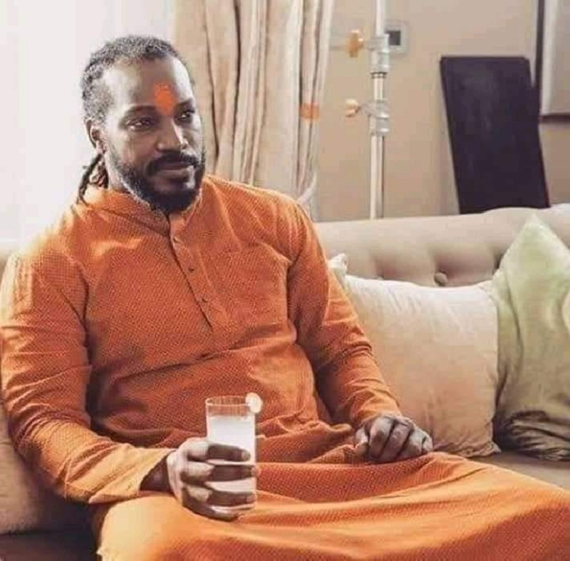 Chris Gayle In Kurta