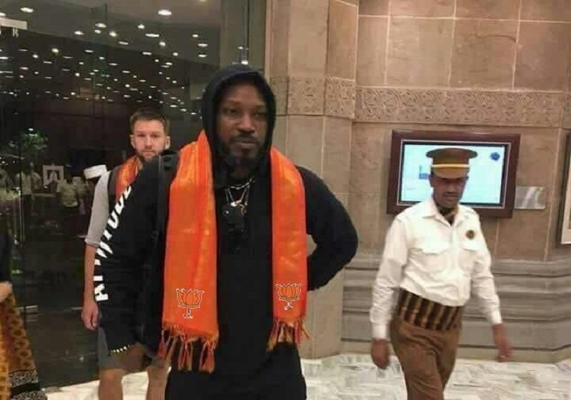 Chris Gayle BJP