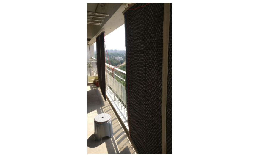 TCLPVC Bamboo protective screens for balcony and windows