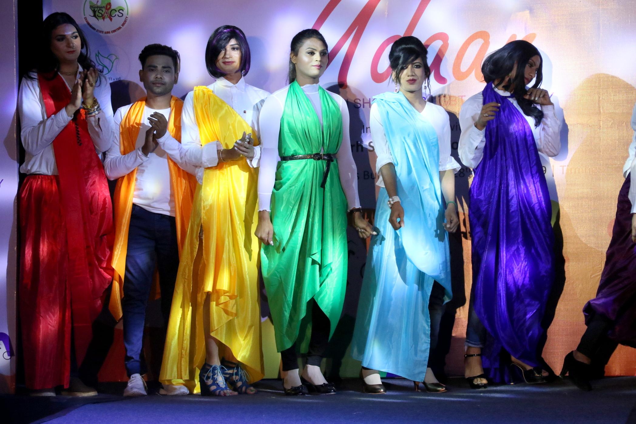 Udaan fashion show1