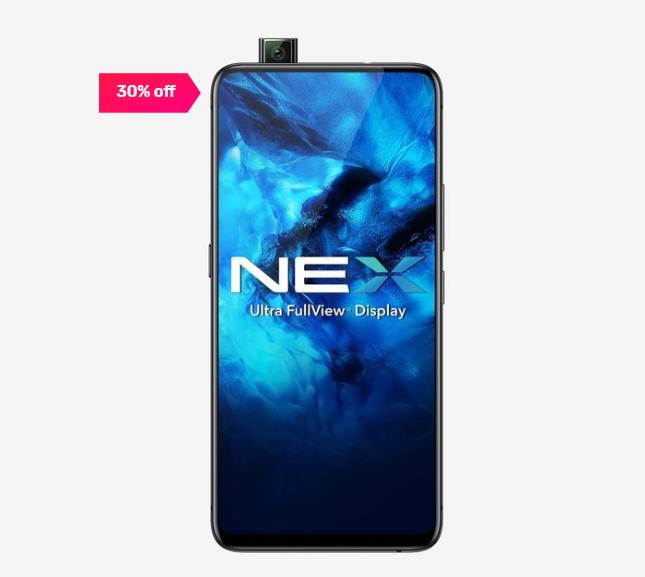 Vivo Nex 128 GB (Black) 8 GB RAM