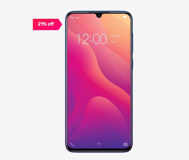 Vivo V11 64 GB (Nebula Purple) 6 GB RAM