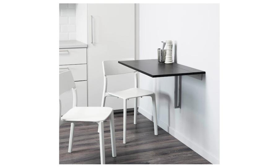 Add a wall mounted folding table