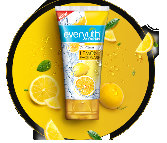Everyuth Oil clear Lemon Face Wash