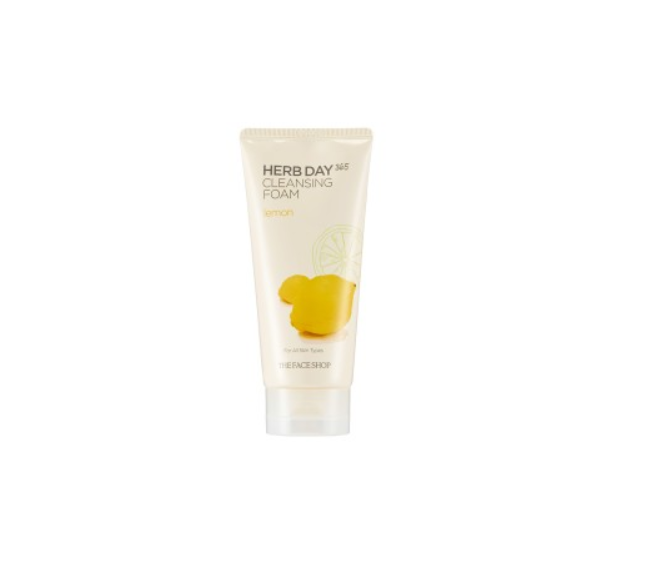 The Face Shop Herb Day 365 Lemon Cleansing Foam