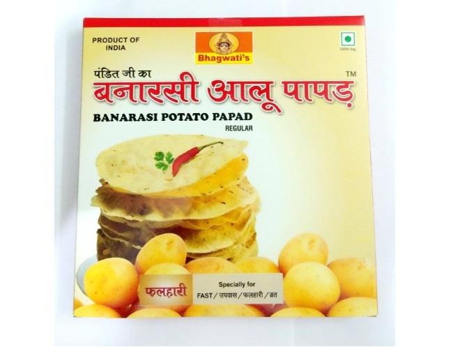 Banarasi Aloo Papad Falhari
