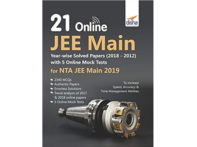 21 Online JEE Main Year-wise Solved Papers with 5 Online Mock Tests for NTA JEE Main by Disha Experts
