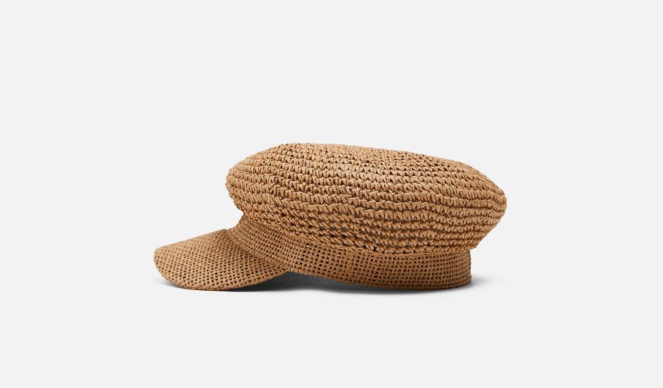 Rustic cap
