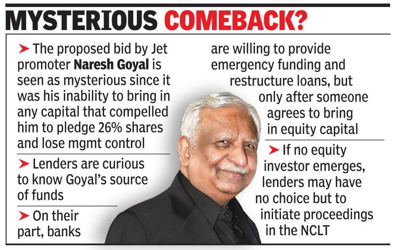 Grounded Goyal looks to reboard, may bid for Jet