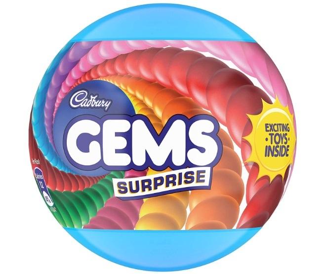 Cadbury Gems Surprise Fun on Wheel
