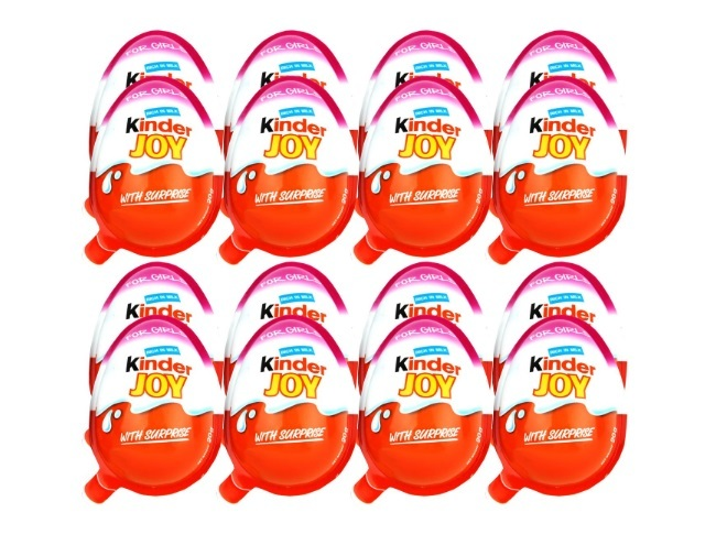 Kinder Joy Chocolates for Girls