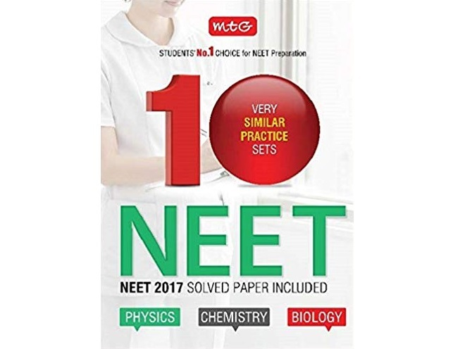 10 Very Similar Practice Sets NEET by MTG Editorial Board