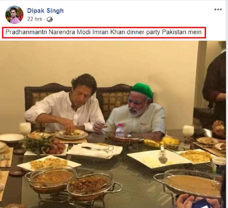 Modi-Khan Fake Post Two