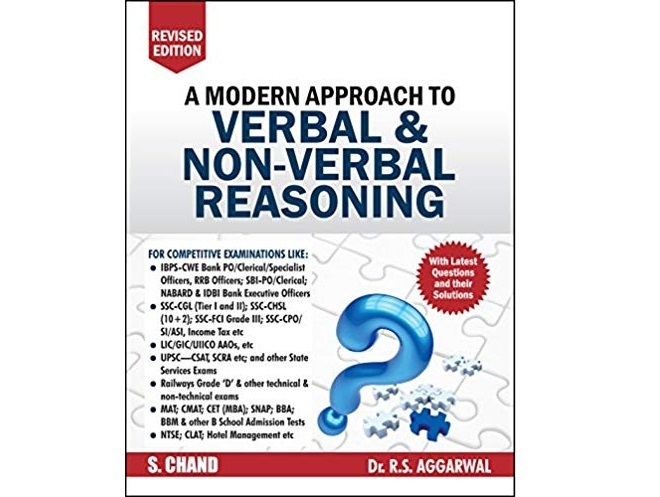 A Modern Approach to Verbal & Non-Verbal Reasoning by R.S. Aggarwal