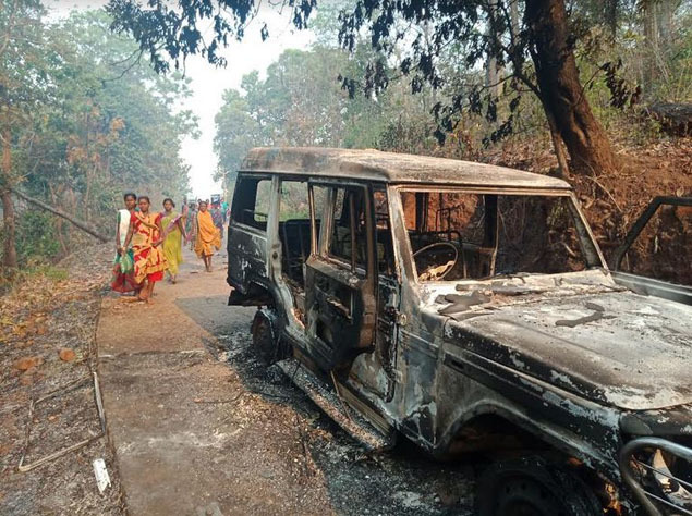 Maoist attack 1