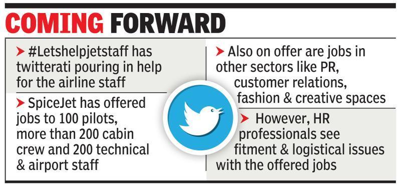 Jet employees get job offers via tweets