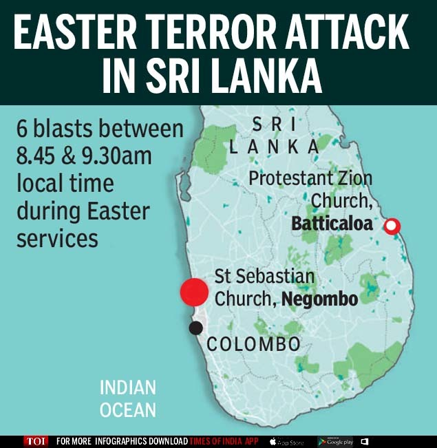 Easter Terror attack  in Sri Lanka (1)