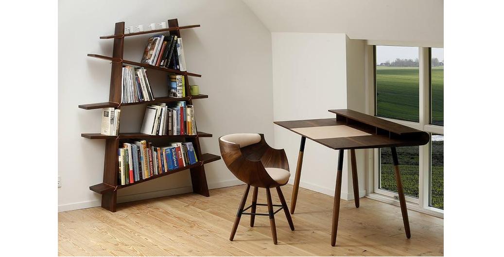 Sculptural Book Shelf