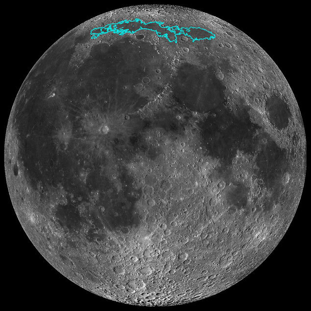 The Moon is cooling, shrinking and has moonquakes, Nasa finds