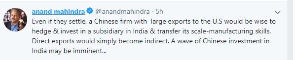 Mahindra tweet 3