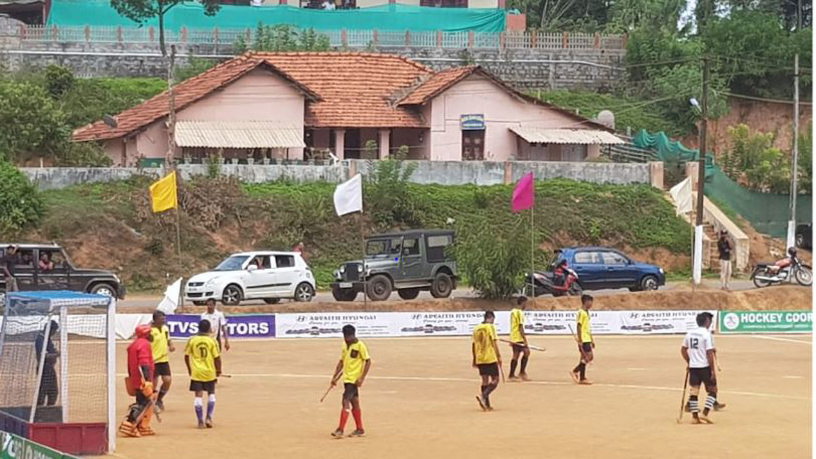 Annual kodava family hockey festival, a month-long event that sees clans battling it out for the trophy every summer