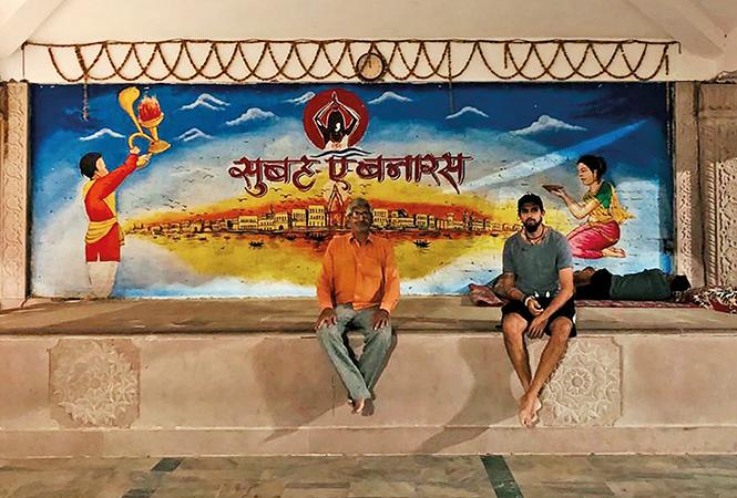 Ishant Sharma at Assi Ghat (BCCL)