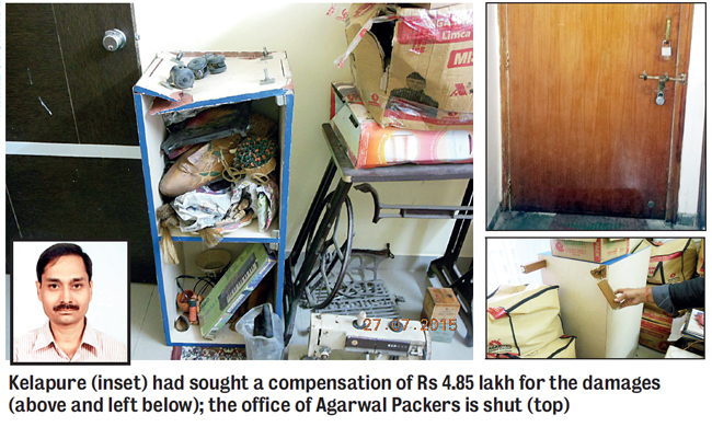 Consumer Protection Act 1986 Agarwal Packers To Pay Rs 2l To Man For Damaged Goods