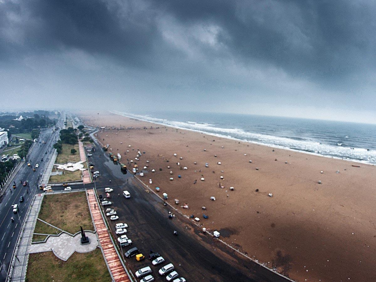 Chennai-MonsoonatMarinaBeach