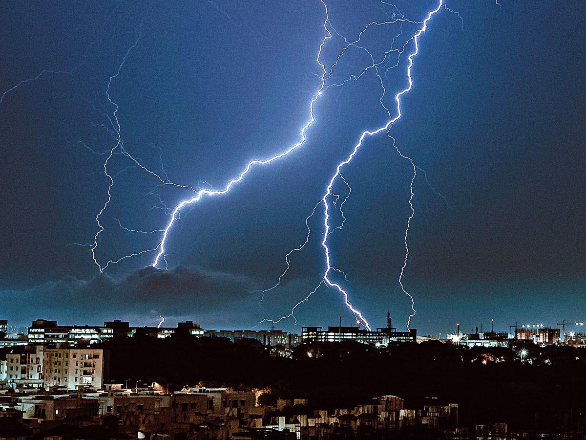 Hyderabad-lightning