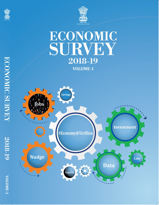 economic survey 2019: Economic Survey projects 7% GDP growth