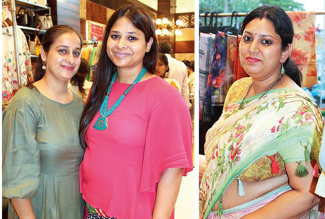 Bhawana Bhasin  and Neha  (R) Ayushi Jalan (BCCL/Arvind Kumar)