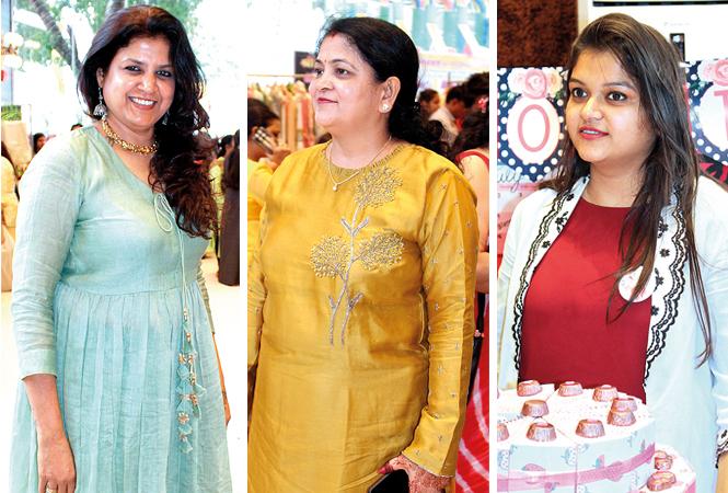 Sonia Didwania, Sunita and Sakshi  (BCCL/Arvind Kumar)