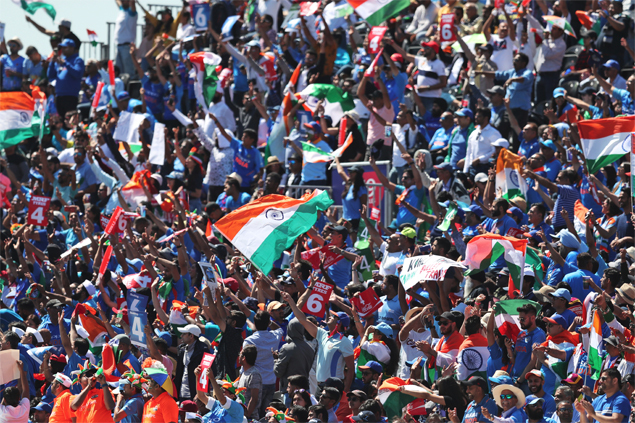 Why Indian cricket fans outnumbered everybody else at the World Cup