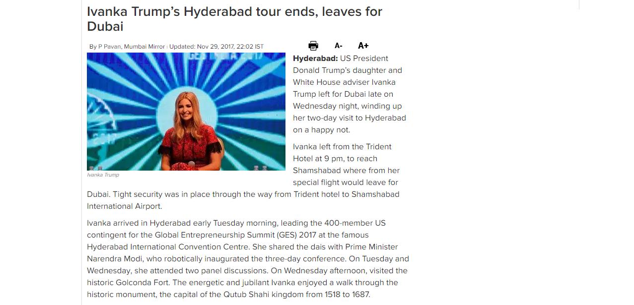 Mumbai Mirror Report