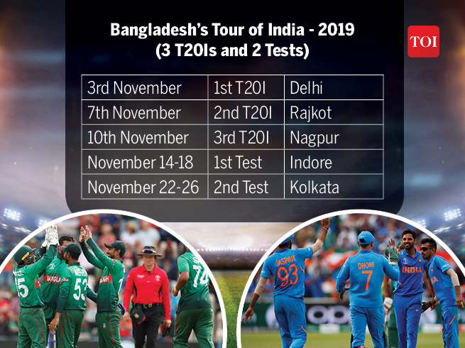 India Cricket Matches List 2019-20: India's action-packed