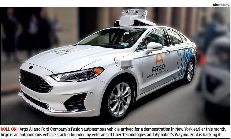 Autonomous car, Ford Argo