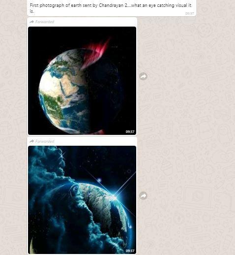 FACT CHECK: Has Chandrayaan 2 sent first photographs of