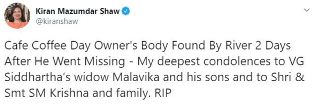 Kiran Mazumdar Shaw tweet (1)
