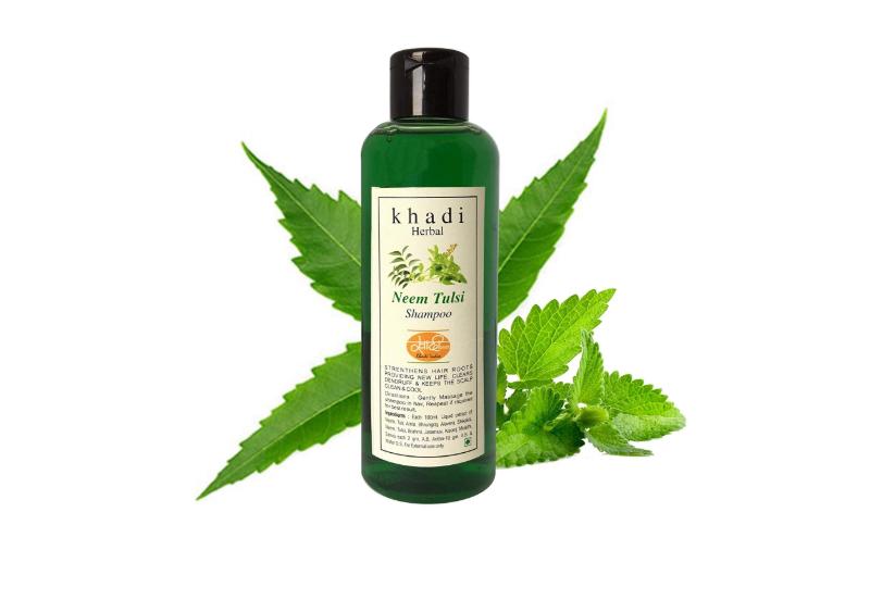 Khadi Natural Neem & Aloe vera Herbal Shampoo
