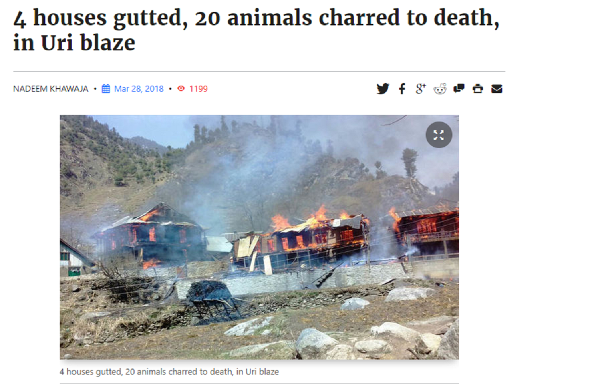 Kashmir Observer Report