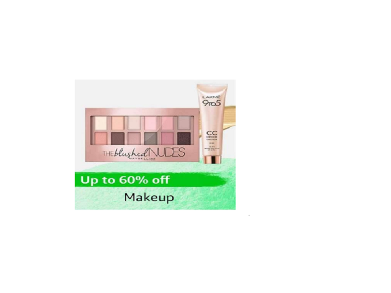 Up to 60% off on Makeup